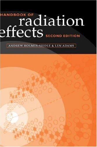 Handbook of radiation effects by A. G. Holmes-Siedle