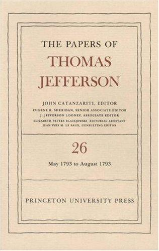 The papers of Thomas Jefferson by Thomas Jefferson