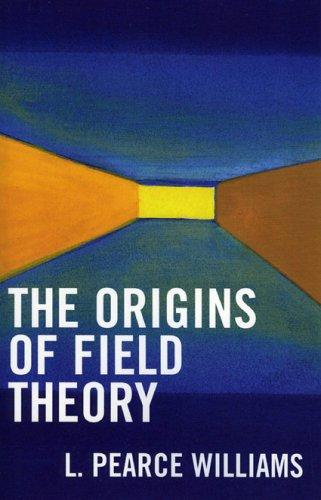 The origins of field theory