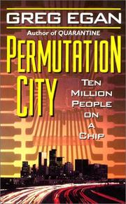 Book cover for Permutation City by Greg Egan