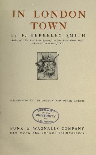 In London town by Frank Berkeley Smith