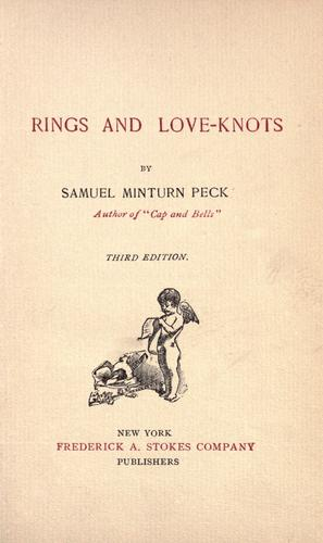 Rings and love-knots by